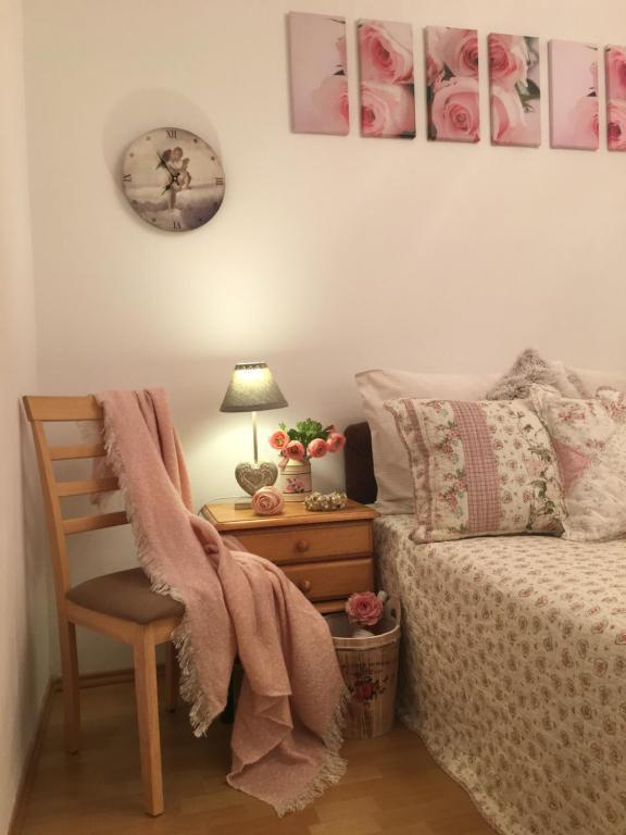 Posezení v ubytování Apartament Roza v tsentre Heviza