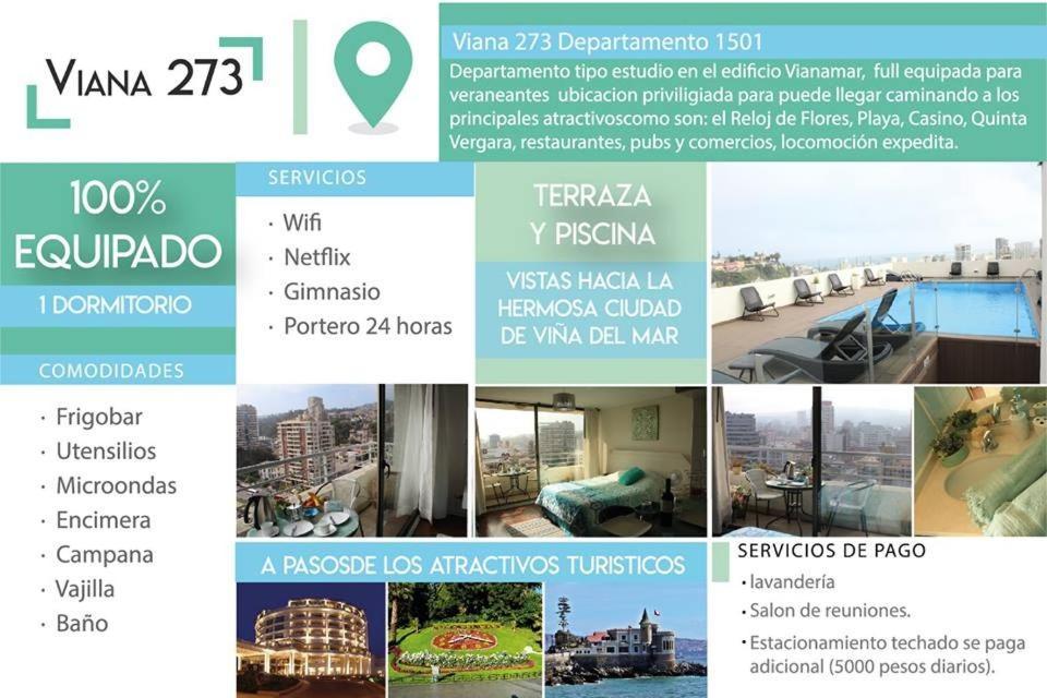 Vianamar Apartment Viña Del Mar Chile Booking Com