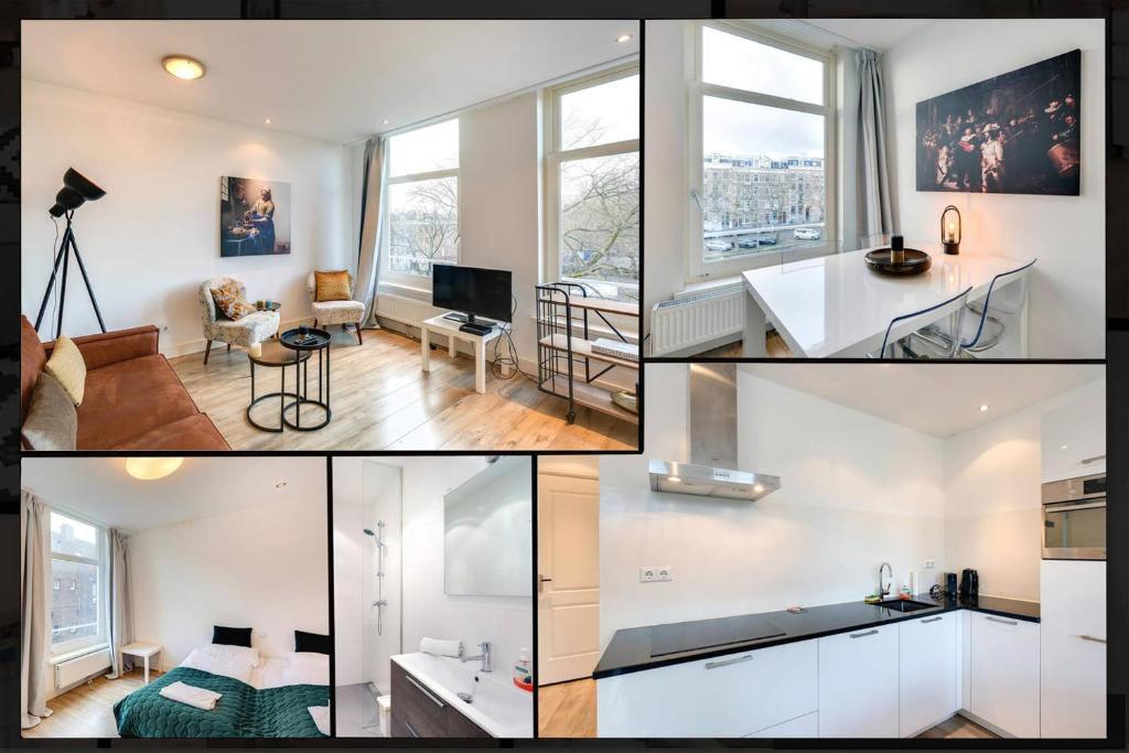Küche/Küchenzeile in der Unterkunft Luxurious Canalview Apt NO.3 CITY CENTRE