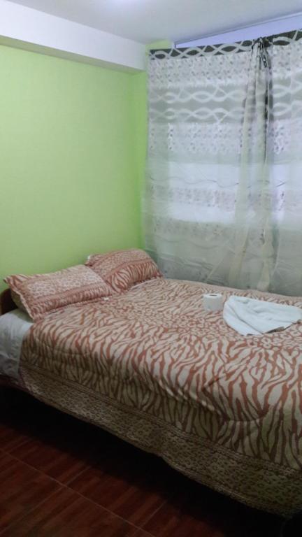 Cama o camas de una habitación en Traveller´s Home Cusco
