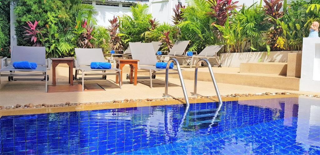 The swimming pool at or near Karon Beach Pool Hotel