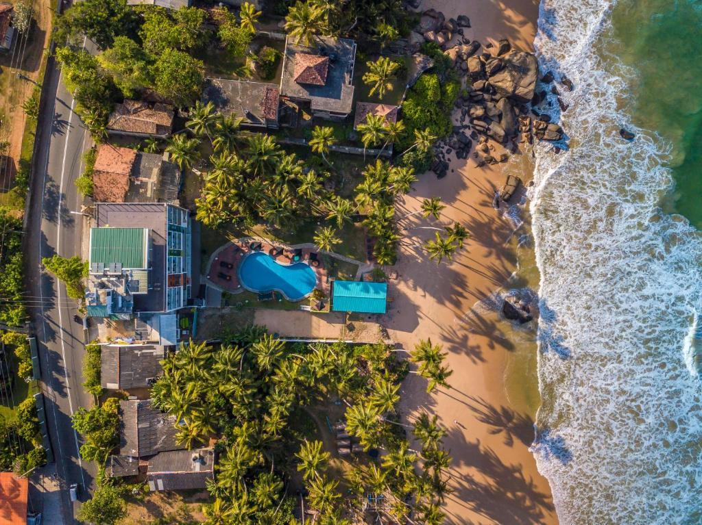 Hotel J Ambalangoda с высоты птичьего полета