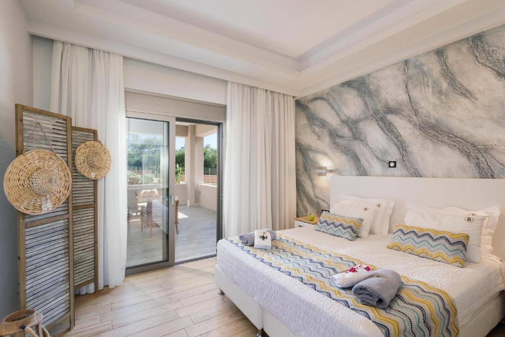 Letto o letti in una camera di Belvedere Apartments and Spa