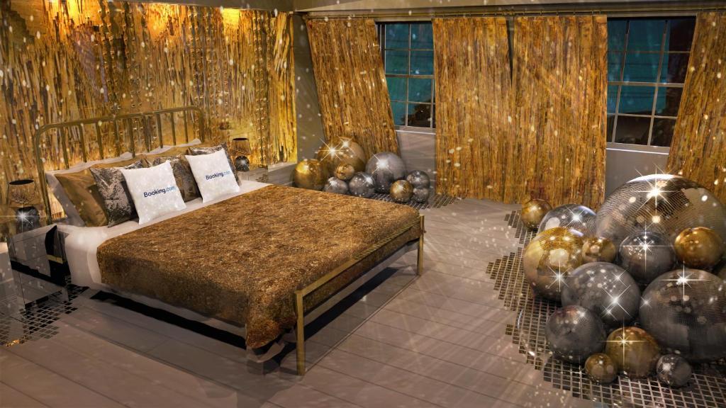 Un ou plusieurs lits dans un hébergement de l'établissement House of Sparkle