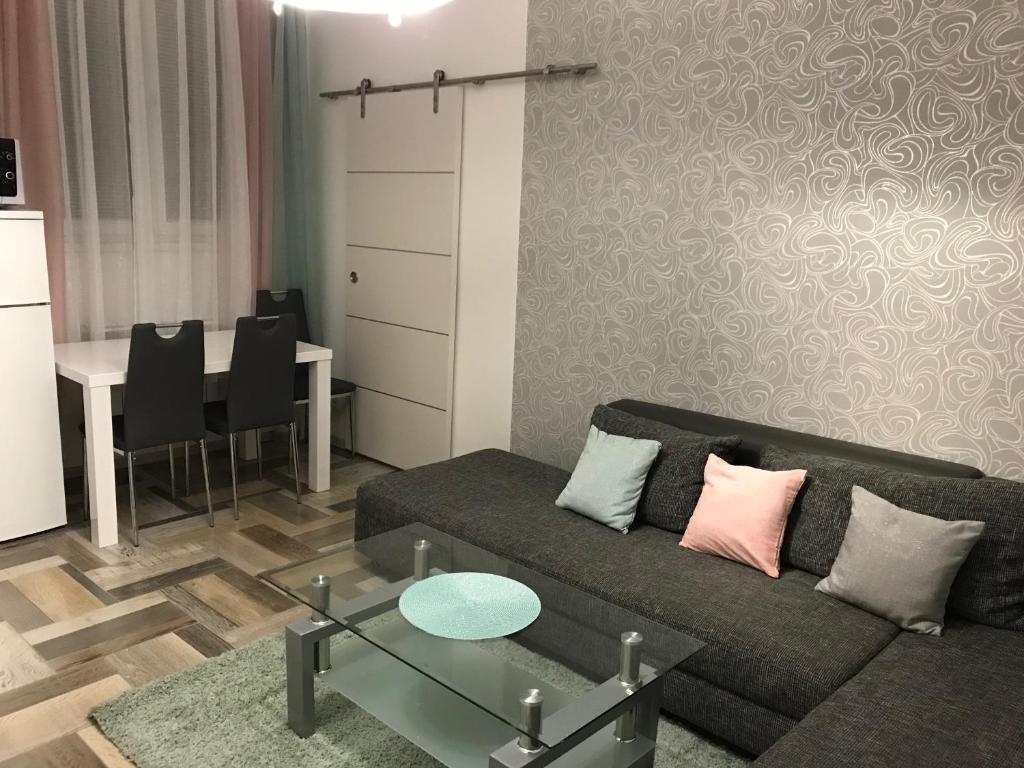 Posedenie v ubytovaní Študio-Košice