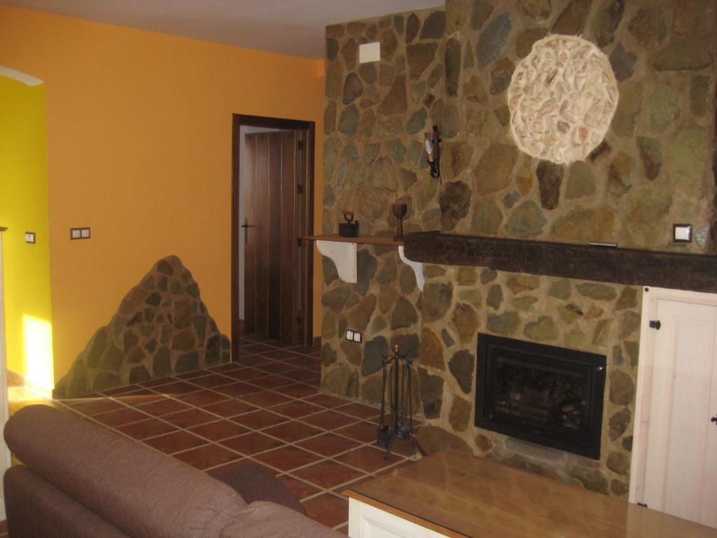 Zona de estar de Alojamientos Rurales Los Molinos
