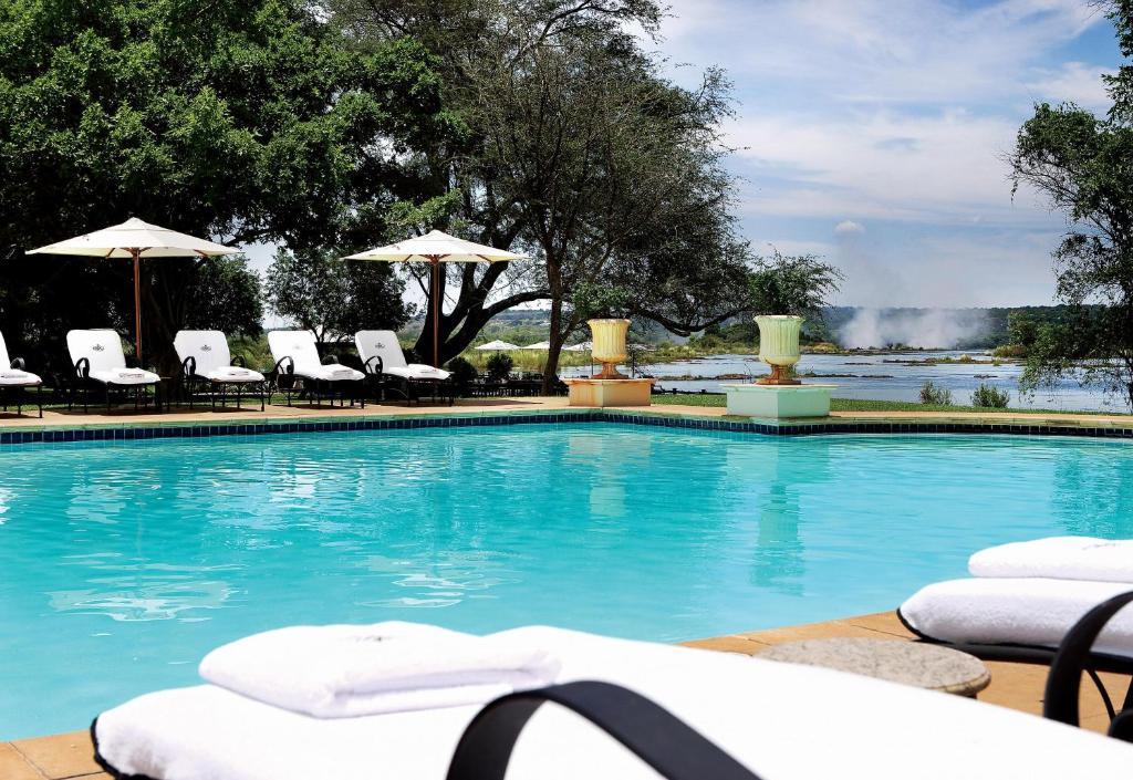 Piscina en o cerca de Royal Livingstone Hotel by Anantara