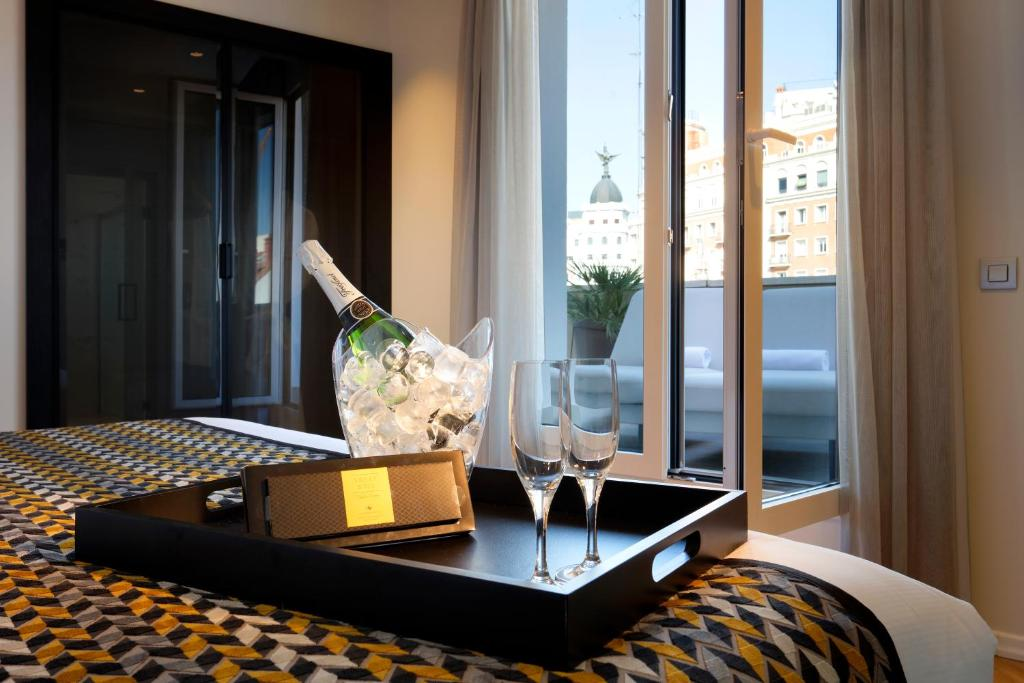 Hotel Eurostars Madrid Gran Vía Spain Booking Com