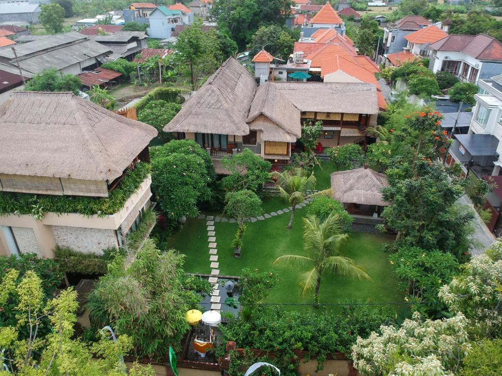 Una vista aérea de Manzelejepun Luxury Villa & Pavilion