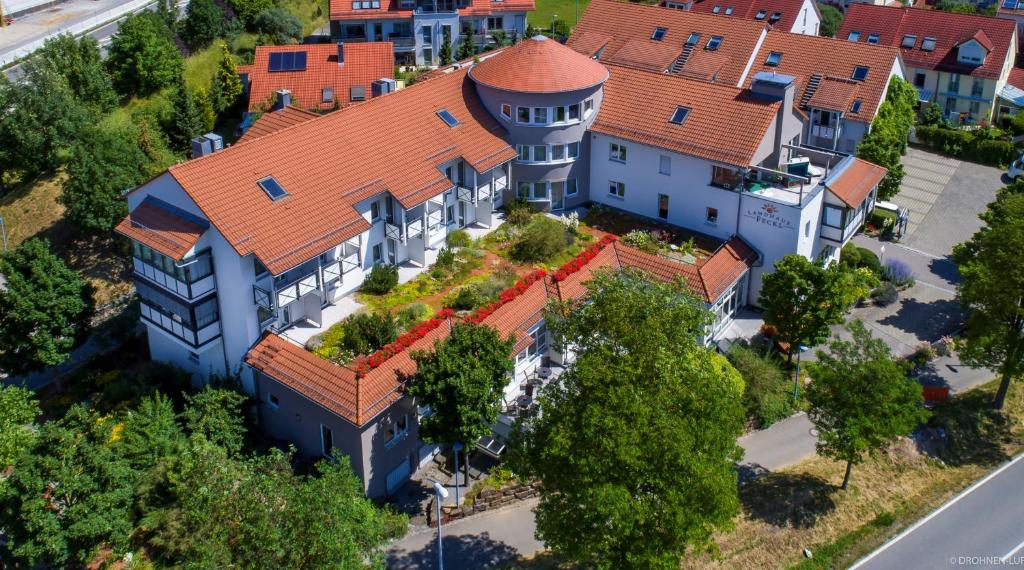 Vista aèria de Hotel Landhaus Feckl