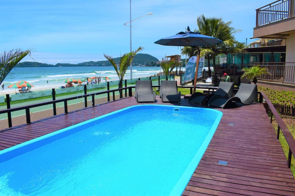 The swimming pool at or near Morada do Mar Hotel