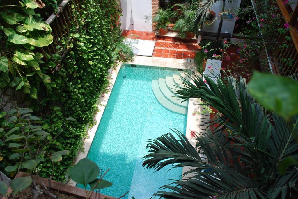 Vista de la piscina de Hotel Don Pedro De Heredia o alrededores