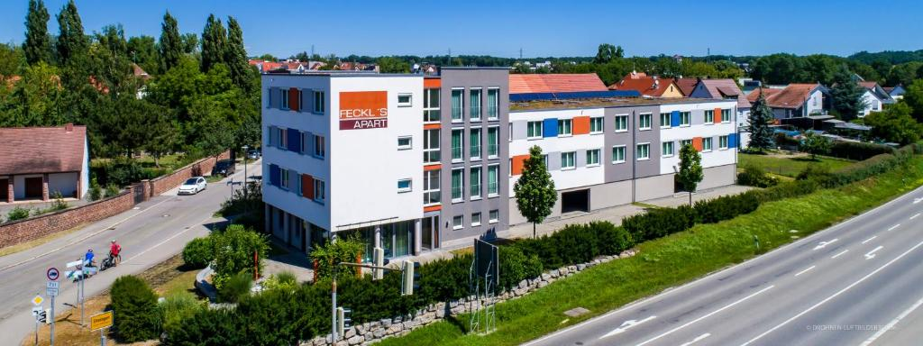A bird's-eye view of Feckl's Apart Hotel