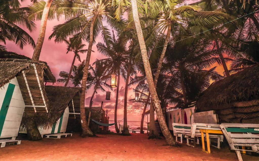 Tropical Beach Hostel Cabanas Galle Sri Lanka Booking Com