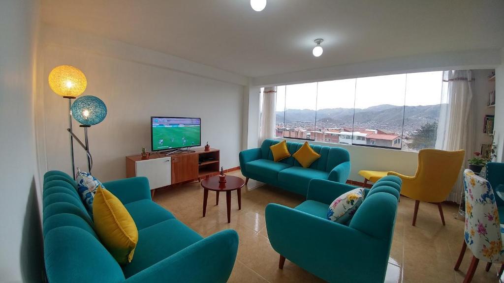 Zona de estar de Kapiso's House