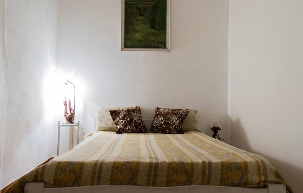 Una cama o camas en una habitación de Chalet vacacional