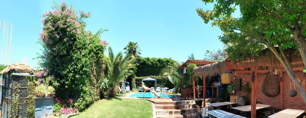 The swimming pool at or near Hotel de Talca