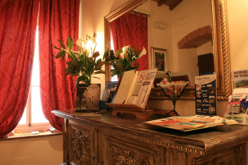 The lobby or reception area at Bed & Breakfast Il Bargello