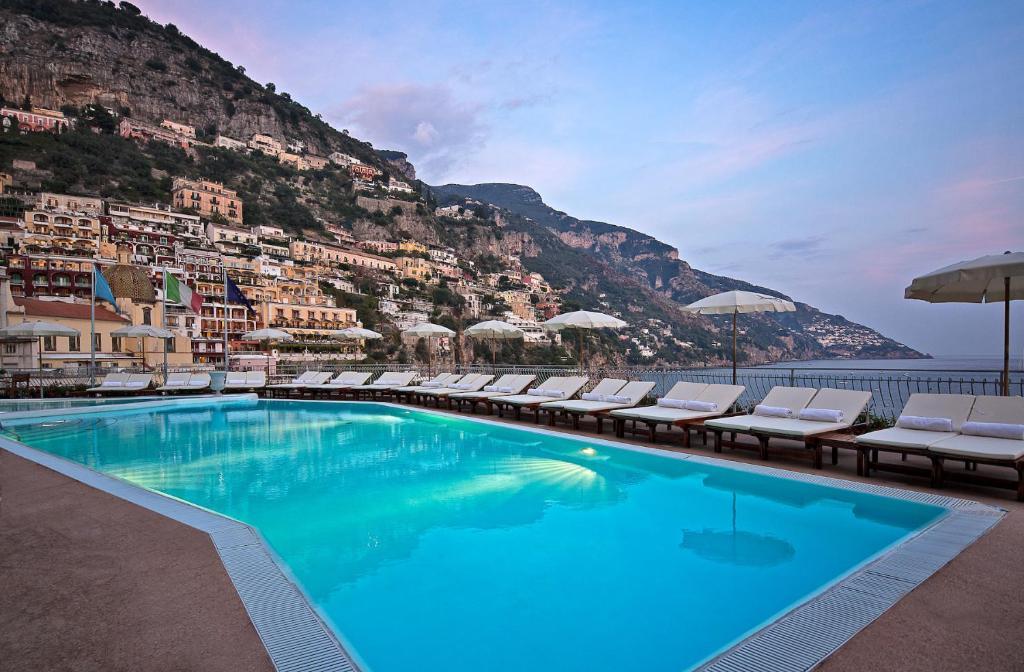 The swimming pool at or near Covo Dei Saraceni