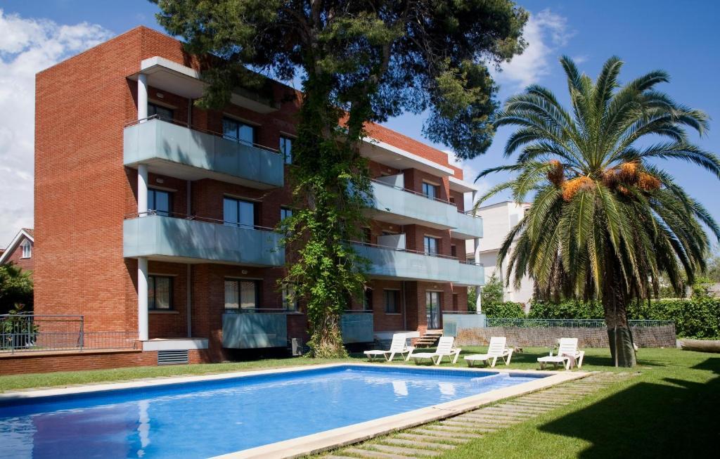 Piscina en o cerca de SG Costa Barcelona Apartments