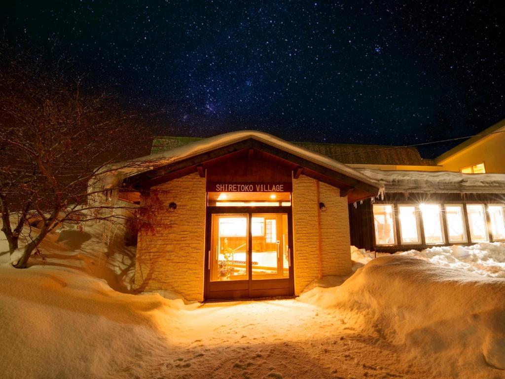 Shiretoko Village im Winter