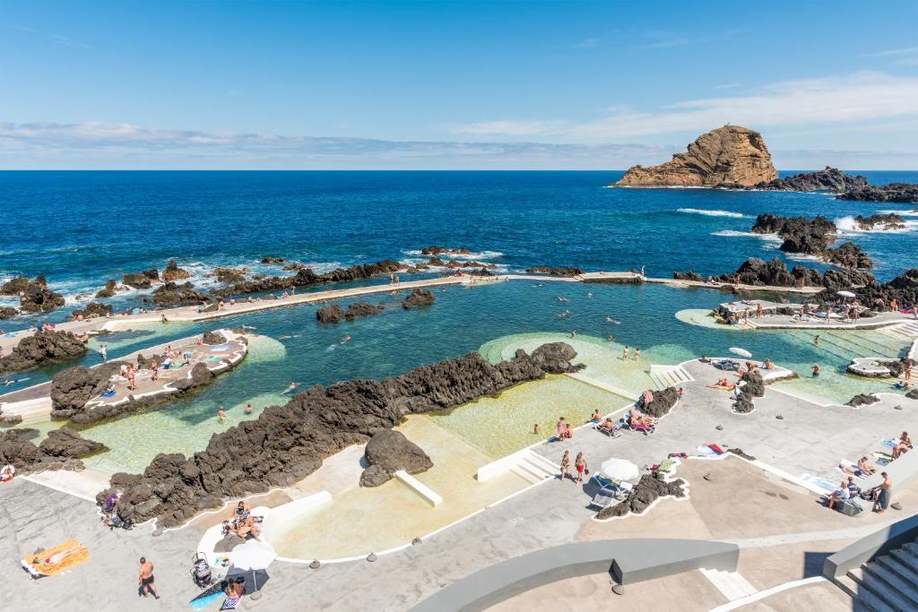 Blick auf Aqua Natura Madeira aus der Vogelperspektive