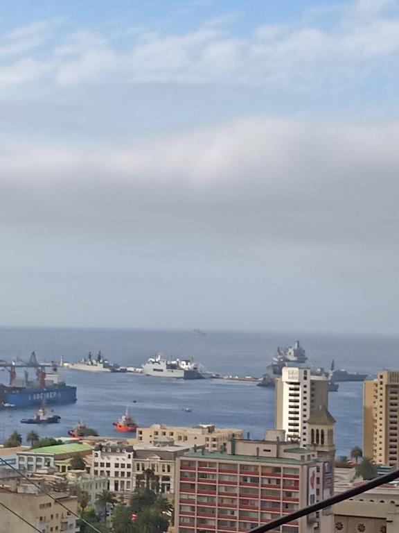 Vista general del mar o vista desde la casa o chalet
