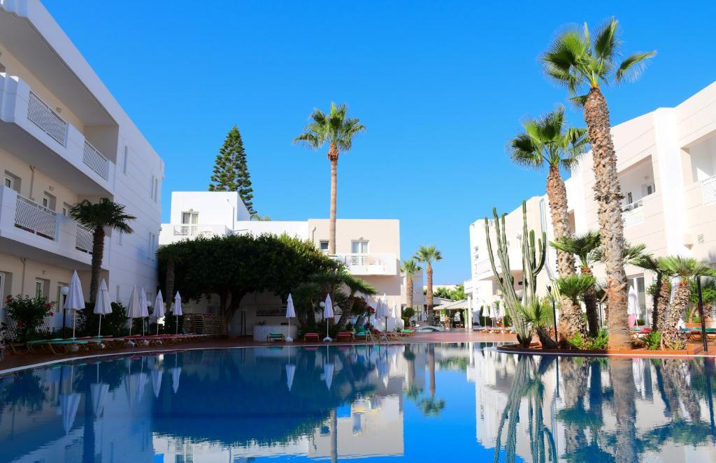 The swimming pool at or near Magda Hotel