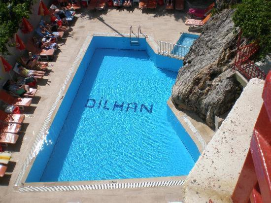 The swimming pool at or near dilhan hotel