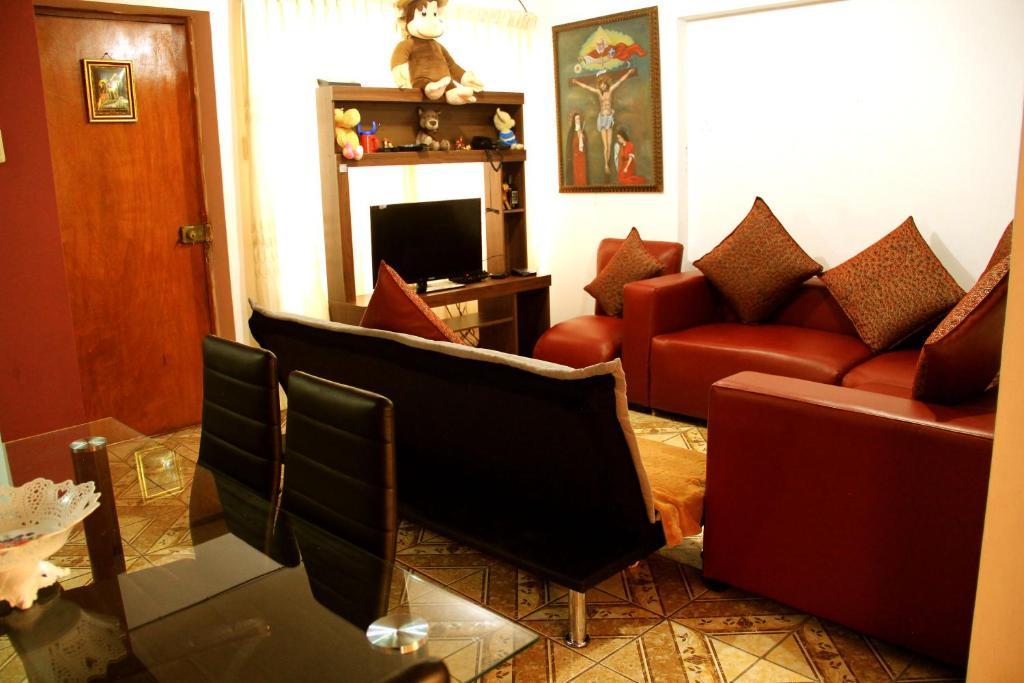 Zona de estar de Apartment Victoria