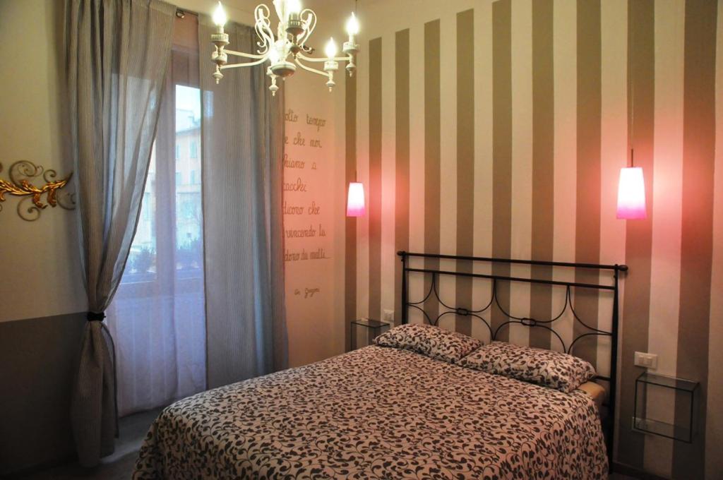 Letto o letti in una camera di B&B Il Moscondoro