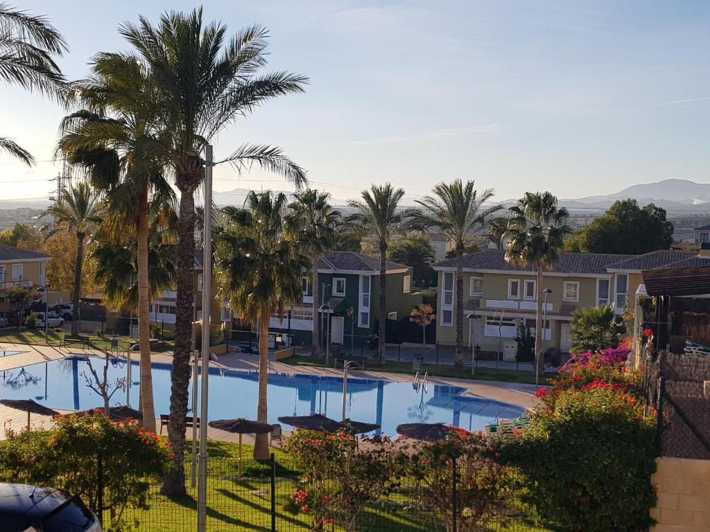 The swimming pool at or near Chalet Bonalba Golf