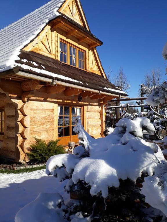 Obiekt Domek Góralski Chata u Słodkiego zimą
