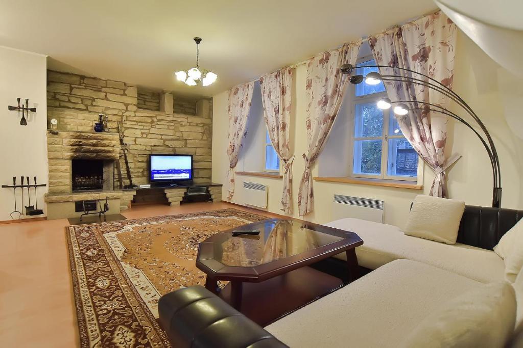 Istumisnurk majutusasutuses Vene 23 Apartments