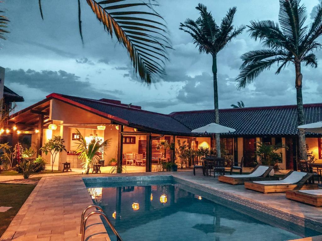 A piscina localizada em Casa Mar Campeche ou nos arredores