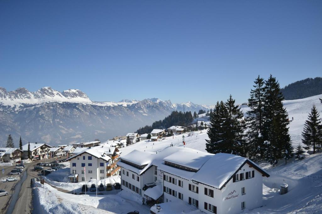 L'établissement Hotel Cristal Flumserberg en hiver