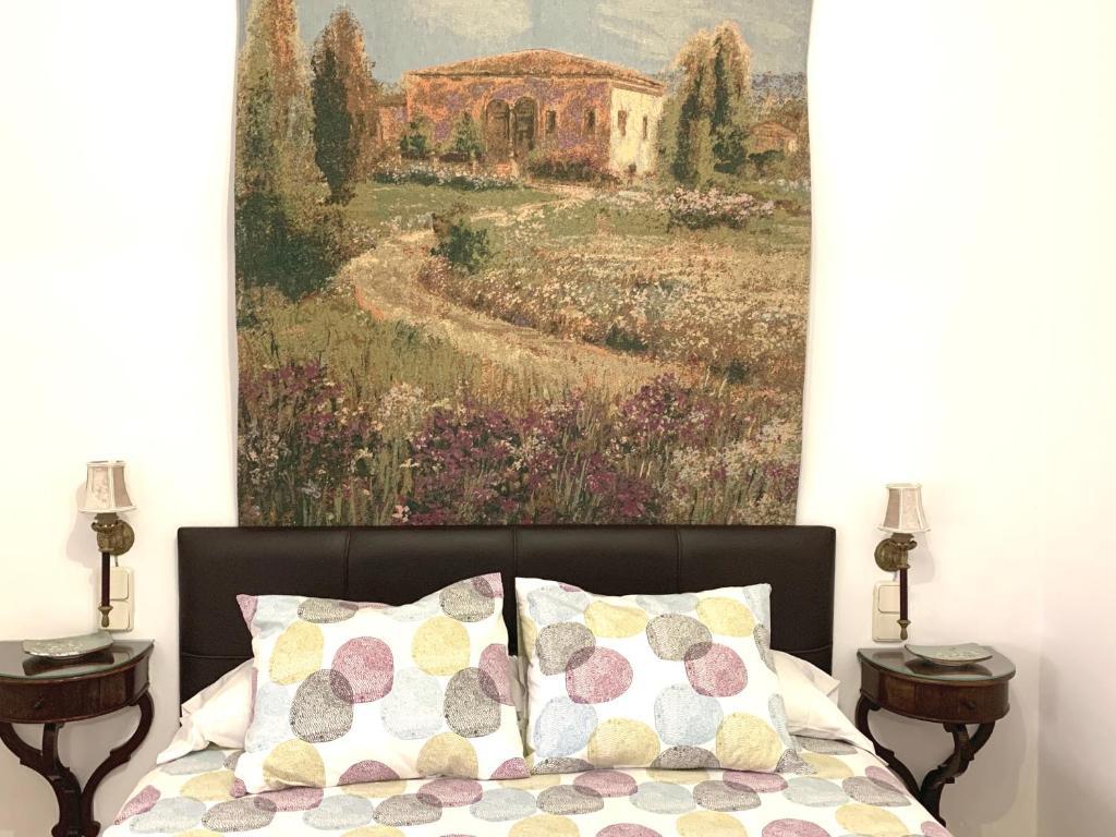 Cama o camas de una habitación en Apartamento Homelife Buenavista