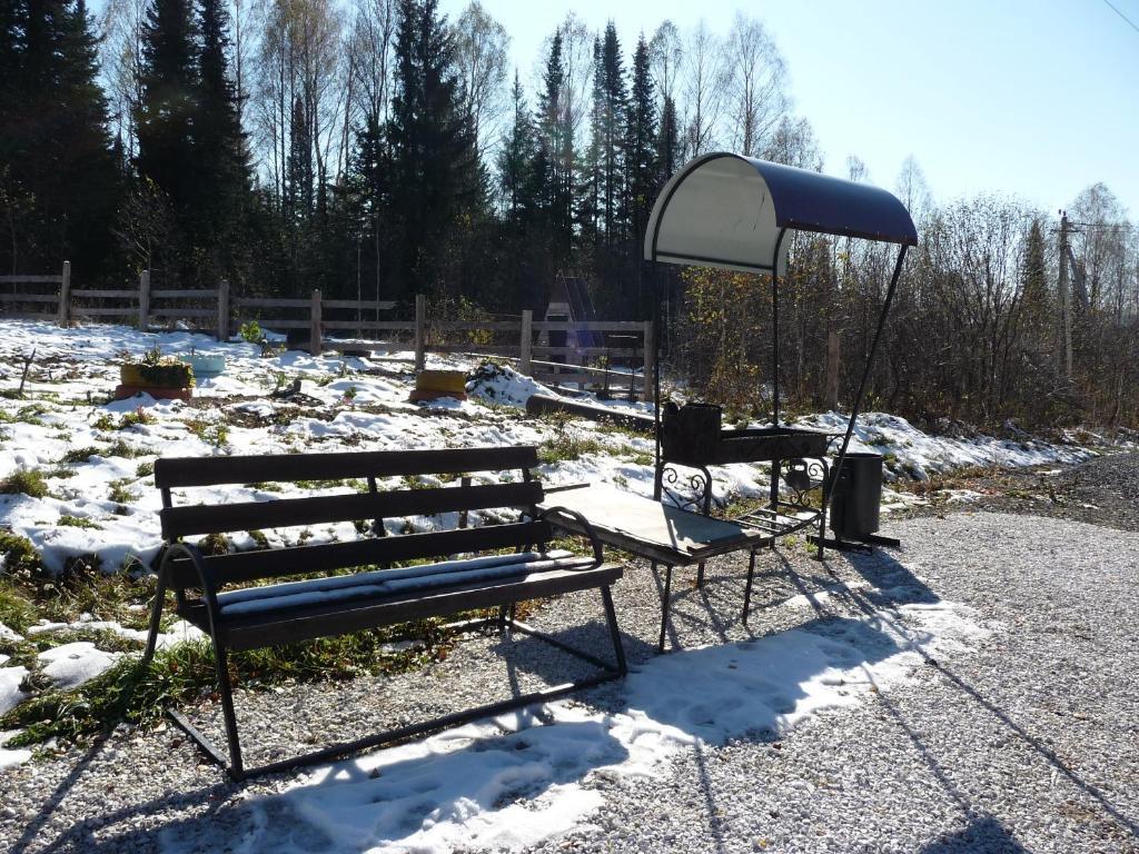 Хостел У Леса зимой
