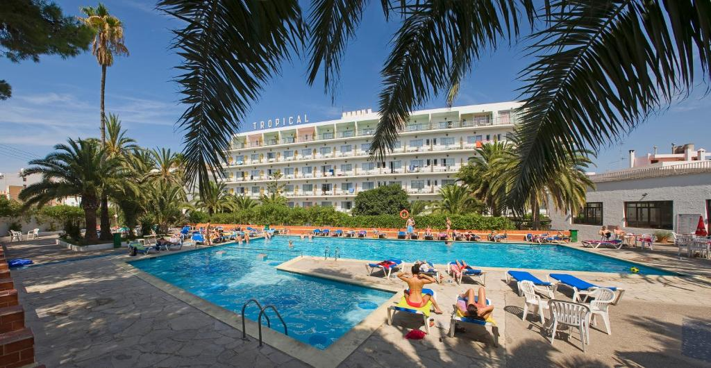 The swimming pool at or near Hotel Tropical