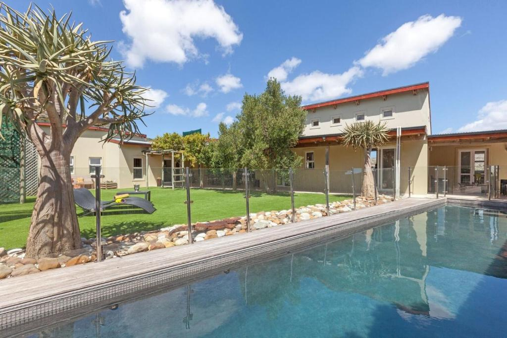 The swimming pool at or near Cape Point Villa