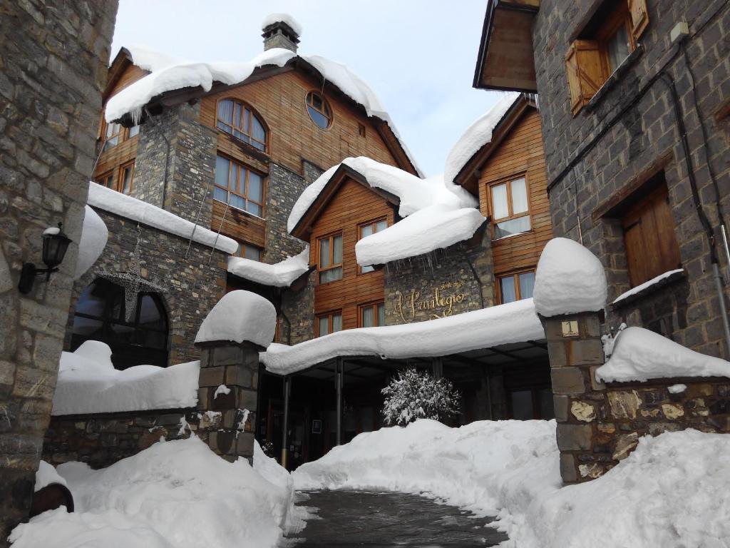 Hotel & Spa El Privilegio during the winter