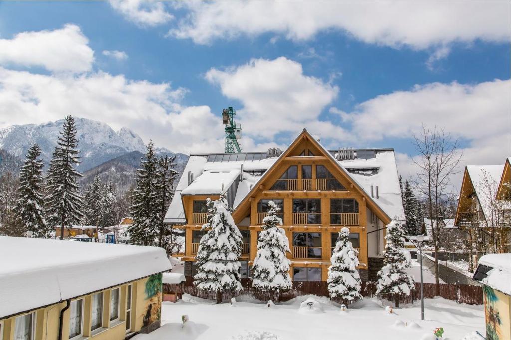 Obiekt Apartament Weekend - pod Skocznią zimą
