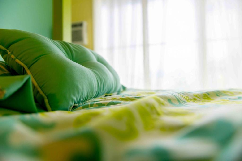 Cama o camas de una habitación en The Big Island Hostel