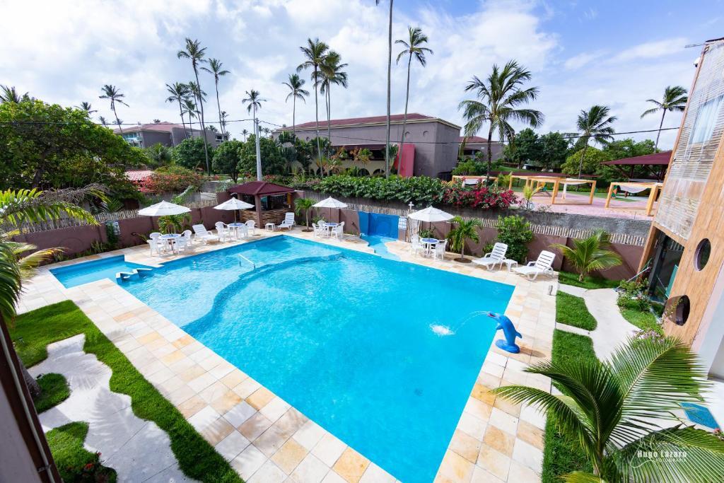 Uma vista da piscina em Hotel Pousada WS ou nos arredores