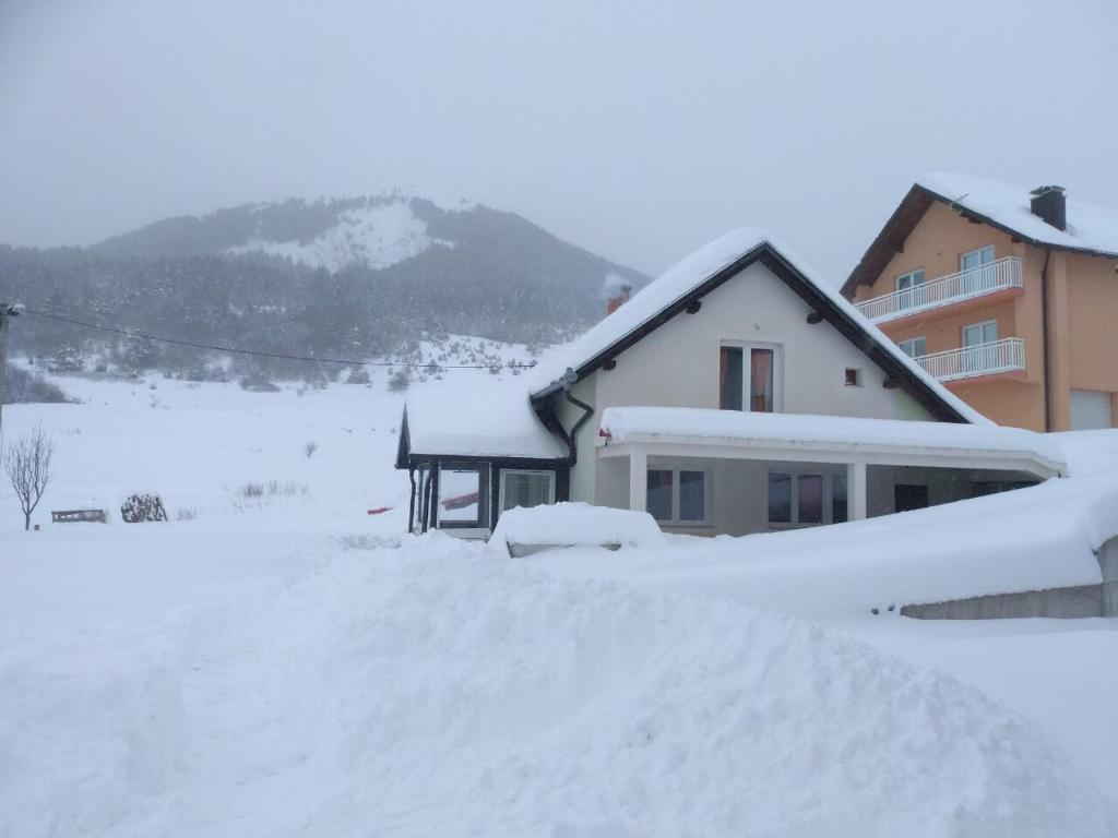 Apartments Herc during the winter