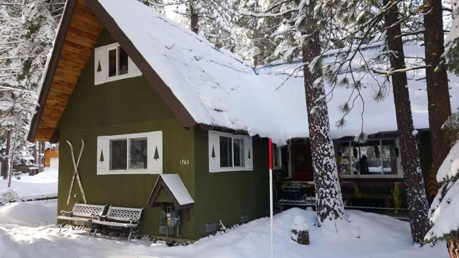 My Tahoe Ski Cabin during the winter