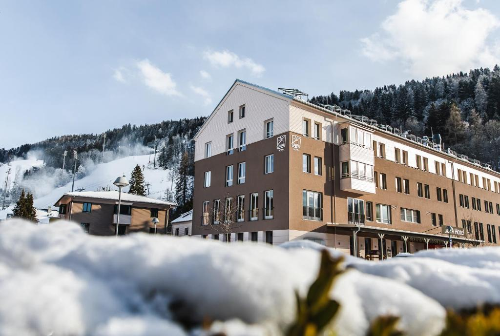 JUFA Hotel Schladming during the winter
