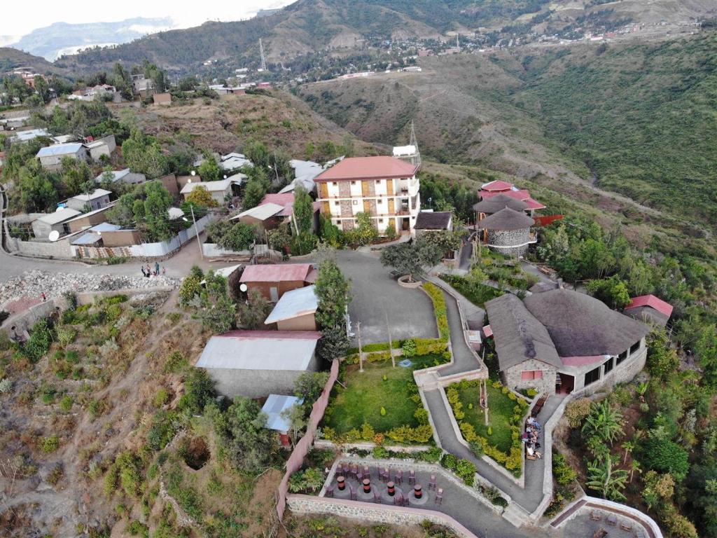 A bird's-eye view of Sora Lodge Lalibela
