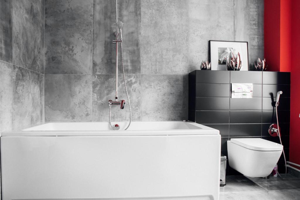 Ванная комната в Я-Отель