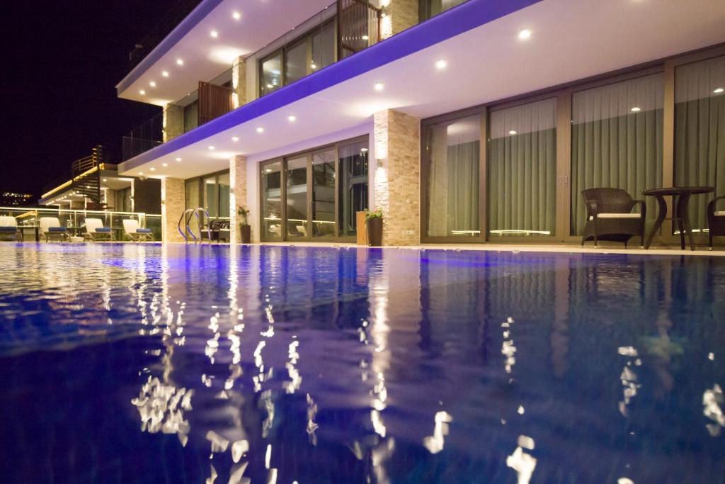 The swimming pool at or near Spektr Boutique Hotel & Spa